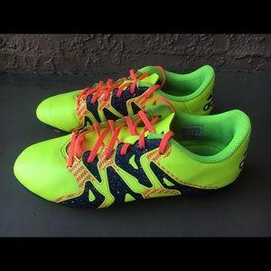 Adidas X 15.4 youth kids boys girls size 4 1/2